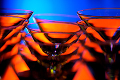 fire water (♫ marc_l'esperance) Tags: blue light red orange distortion abstract hot color colour reflection glass colors vancouver canon eos restaurant glasses bravo colorful colours dof bright geometry abstractart background © martini 2006 depthoffield 10d repetition colored existinglight colourful nocrop coloured uncropped notripod allrightsreserved rotated cml relections canonef70200mmf28lusm ef70200mmf28l canon70200f28l magicdonkey artificialillumination abigfave specobject notaphotoshopeffect minimalpostproduction unprocessedcolours aplusphoto