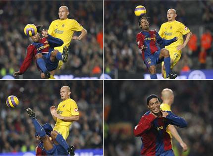 Ronaldinho Overhead Kick Chilena Bicicleta