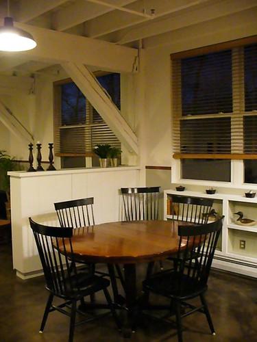 Loft Dining space