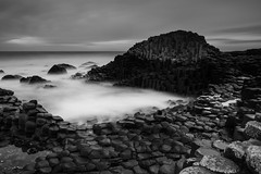 Giant's Causeway, Bushmills. Northern Ireland. (jtat_88) Tags: 09neutraldensityhardgrad amateur atlanticocean basalt basaltcolumns bigstopper blackandwhite bold bushmills causeway causewaycoast chalkbed circularpl column contrast countyantrim countyantrimcliffpath digital filters finnmaccool flow fullframe giant giantscauseway hardgrad hexagonal hoya hoyapro1digitalcircularpolarizingfilter ilce7 ireland irish le lee leebigstopper leefilters landscape lava lavaplateau legend longexposure mirrorlesscamera mist mood nd ndfilter nationaltrust nature northcoast northernireland ocean photography rocks sea seascape seaside sky sony sonyfe2870mmf3556oss sonya7 stones sunrise thuleanplateau travelphotography unesco volcanic water waterfront winter worldheritagesite unitedkingdom gb 6stop