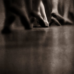 pursuit of happiness (paul veraguth) Tags: bw ballet sepia dance winnerflickrsweekly25contest practicetoimproveskills common_threads:topic=44 common_threads:topic=61