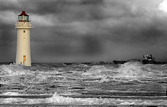 Lighthouse on the River Mersey, Liverpool (john_barr) Tags: lighthouse liverpool river mersey wallasey wirral