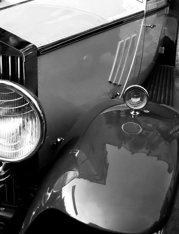 Mr. Royce detail b&w