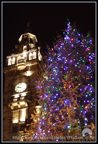 ... Christmas Tree in front of Sheffield Townhall | by ErhuDave - Christmas Tree In Front Of Sheffield Townhall A Must Have €� Flickr