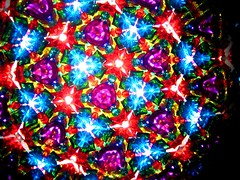 kaleidoscope (optick) Tags: lights triangle colours patterns mirrors kaleidoscope optick