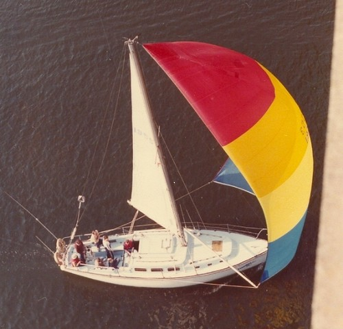 Burrard Bridge Boat - Van 1980