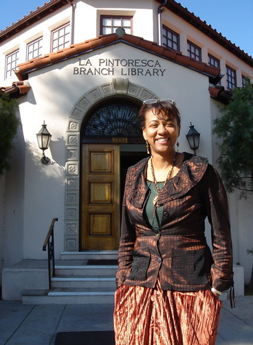 Diane Walker, Branch Manager by La Pintoresca Branch Library