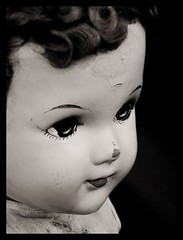 Angel Doll (kawaiianigel) Tags: old white black square doll praa calisto benedito calixto