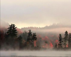 More mountain mist (Lida Rose) Tags: autumn mist lake mountains fall topf25 bravo searchthebest quality adirondacks lidarose magicdonkey interestingness20 bigmooselake impressedbeauty explore4dec06