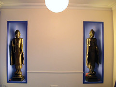 Buddhas in reception room 2