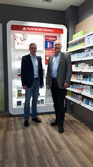 Gedankenaustausch mit Apotheker Christian Willecke