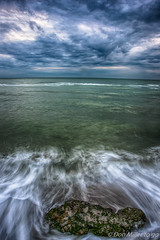 Drama at the Beach (DonMiller_ToGo) Tags: beachlife sky caspersenbeach clouds waves beaches nature longexposure outdoors florida rocks d810 beachphotography seascapes
