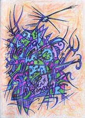 Oversized Coat (darksaga66) Tags: bookofink penandink inkart art myart coat doodle