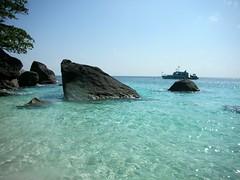 Similan Island #4 Honeymoon Bay Beach (_takau99) Tags: ocean trip travel cruise blue sea vacation holiday beach nature water topv111 landscape thailand island islands topv555 topv333 nikon marine asia southeastasia december honeymoon indian topv1111 topv999 indianocean topv444 dive diving 2006 topv222 thai tropical coolpix topv777 s1 nikoncoolpixs1 phuket topv666 similan surin andaman andamansea topv888 liveaboard honeymoonbay similanislands nikoncoolpix coolpixs1 honeymoonbeach similanisland takau99 similan4 edive honeymoonbaybeach
