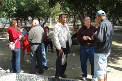 Sharing Jesus at the park