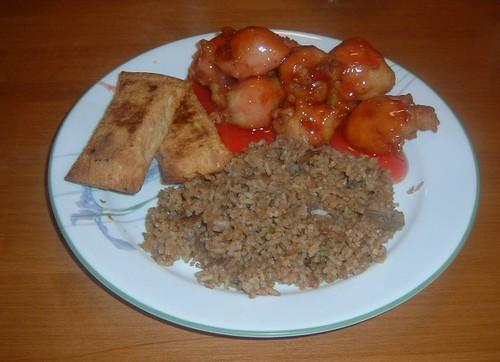 Homemade chinese food !!