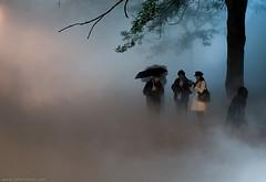 Nuit Blanche - Fog in Toronto
