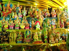 Navarathri Golu --Pic.3 (Kamala L) Tags: india beautiful temple dolls tamilnadu golu navarathri