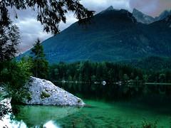 Hintersee (Hardo) Tags: mountains alps nature germany geotagged deutschland natur berge alpen hdr hintersee bgl hochkalter berchtesgadenerland