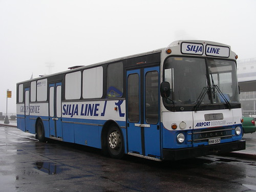 Anslutningsbuss silja line