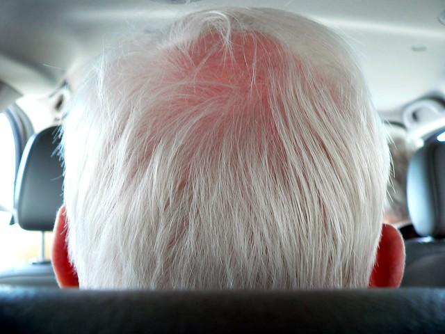 grandpa's head