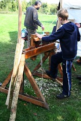 Img_4700en (Peter Cuffe) Tags: ireland hedge lathe woodturning hedgelaying iwt crann hlai mountbellew