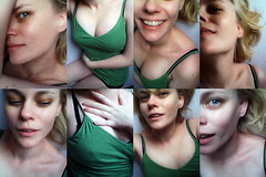 the art of seduction (Sexy Swedish Babe) Tags: selfportrait me topf25 collage bed curvy crapcam seduction