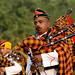 Bagpiper of Indian Army