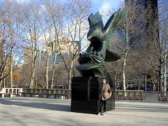 World War II Memorial (*Checco*) Tags: city newyorkcity usa newyork me america memorial war eagle manhattan unitedstatesofamerica thebigapple