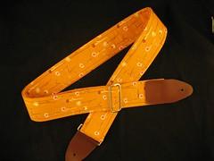 Orange Poppy Strap.JPG (TeamOki) Tags: guitar straps