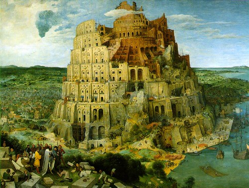 Tower of Babel by flickr user ThomasThomas