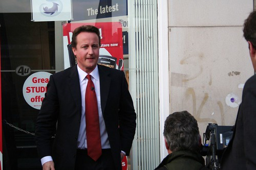 David Cameron by Flickr user Edublogger