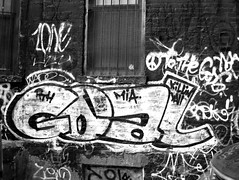 goal (street stars) Tags: nyc urban streetart graffiti decay fuckartbombeverything