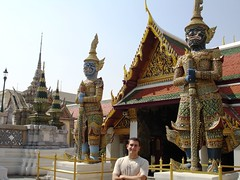 Flapy in Wat Pho