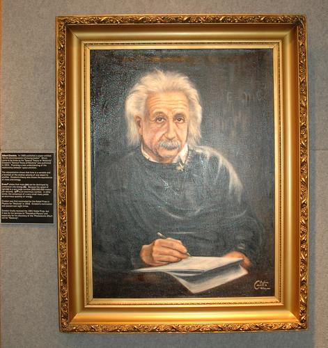 NAM - Einstein painting