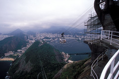 Sugar Loaf Cable Car - Bondinho Po de Acar (laszlo-photo) Tags: brazil rio brasil riodejaneiro sugarloaf podeaucar urca