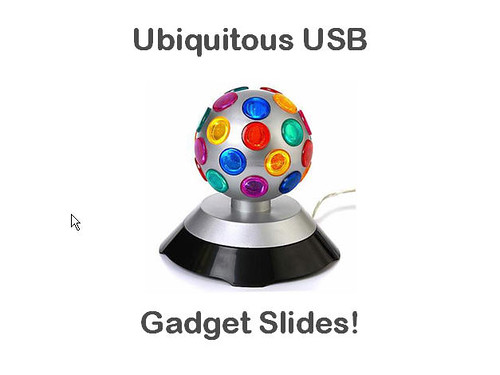 SPL Gadget Presentation USB Fun Slide 1