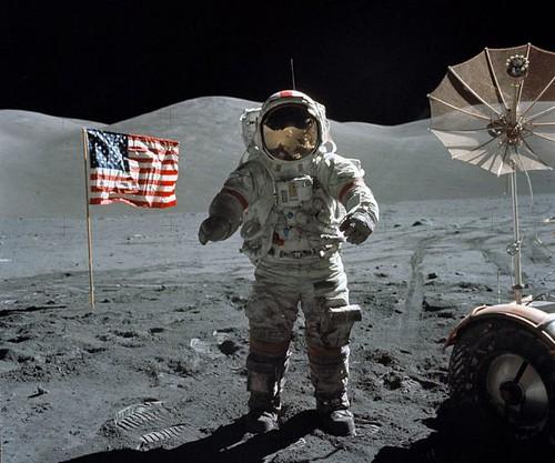 Apollo 17 - Eugene Cernan en la Luna