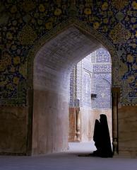 Woman in Prayer by Karl O'Brien