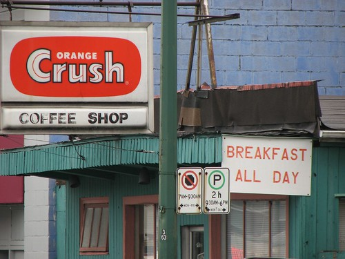 Orange Crush Coffee Shop