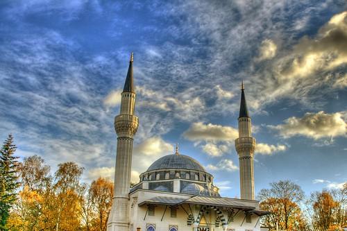 Berlin Türk Şehitliği Camii HDR