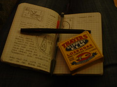 Moleskine and Lozenges - by chıcgeeĸ