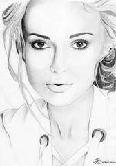Celebrity Guess Who....? Again... (ladyLara ( Laura Blc )) Tags: portrait bw laura celebrity art lines pencil sketch artwork women handmade drawing drawings line romania myart actor portret keira knightly cluj arta myway keiraknightly desen creion schita ladylara laurabalc laurablc blc celebritydrawings