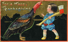 Thanksgiving - Lad with Axe