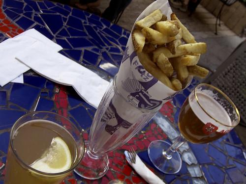 Belgian frites... mmmmmm