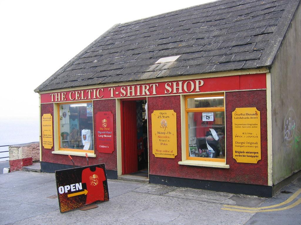 Celtic T-Shirt Shop, Lahinch