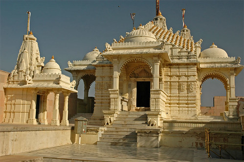 Palitana Jain Temple in Gujarat, India