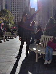 MaryLynn and the Tree (marylynnflickr) Tags: nyc tour visiting rockettes the kavetch