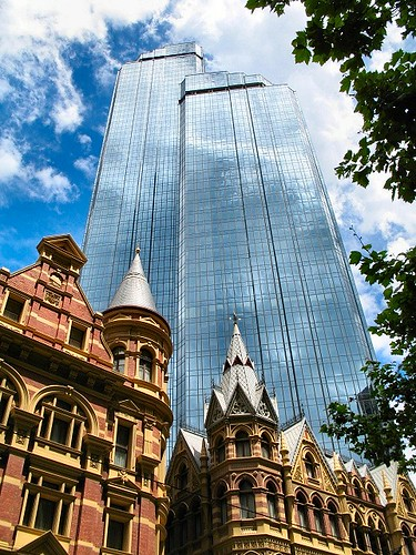 Rialto Towers, Winfield & Rialto Buildings - Melbourne por Dean-Melbourne.