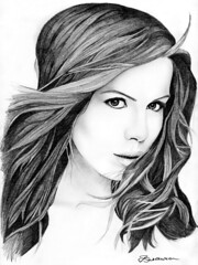 Celebrity Guess Who....? (ladyLara ( Laura Blc )) Tags: portrait bw laura celebrity art lines pencil sketch artwork women handmade drawing kate drawings line romania myart actor portret cluj arta beckinsale katebeckinsale myway desen creion schita flickrgold ladylara laurabalc laurablc blc celebritydrawings